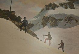 Suisse. Une Ascension De Montagne. Photogravure Fin XIXe. - Estampas & Grabados