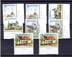 Belgique 1985,  Tourisme, 2179 / 2182** Avec Numéro De Planches Complets - Numéros De Planches
