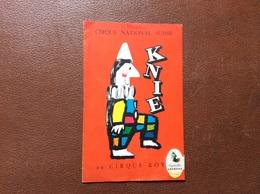 PROGRAMME CIRQUE  Cirque National Suisse KNIE   PROGRAMME 1958 - Programme
