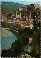A - SA - Salzburg, Altstadt Und Salzach, Gesehen Von Mülln - Ed. Alfred Gründler N° F 203 (circ. 1975) - Salzburg Stadt