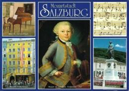 A - SA - Mozartstadt Salzburg - Multivues / Multiview / Mehrbildkarte (5) - Photos : Hans-Jörg Murrenwald (circ. 2008) - Salzburg Stadt