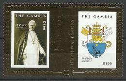 Gambia 2010 Mi Bl 796 MNH ( ZS5 GMBbl796 ) - Gambie (1965-...)