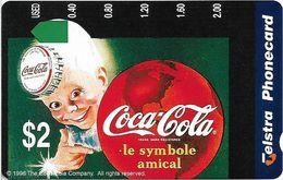 Australia - Telstra (Anritsu) - 1996 Coca Cola Complimentary - M454 - Le Symbole 14/20 - 09.1996, 2$, 2.000ex, Mint - Australia