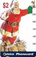 Australia - Telstra (Anritsu) - 1996 Coca Cola Complimentary - M459 - Santa Claus 19/20 - 09.1996, 2$, 2.000ex, Mint - Australia