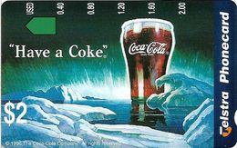 Australia - Telstra (Anritsu) - 1996 Coca Cola Complimentary - M460 - Have A Coke 20/20 - 09.1996, 2$, 2.000ex, Mint - Australia