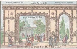 CHROMO  THUVIN NOUVEAUTES MEULAN  EXPOSITION UNIVERSELLE 1878  PORTUGAL FACADE INTERIEURE - Other
