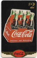 USA - Sprint - Coke National '96 (GOLD VALUE) - SBI-1157 - Advert. #21, Remote Mem. 2$, 2.715ex, Used - Vereinigte Staaten