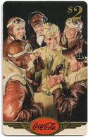 USA - Sprint - Coke National '96 (GOLD VALUE) - SBI-1160 - Advert. #24, Remote Mem. 2$, 2.715ex, Used - Vereinigte Staaten