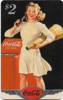 USA - Sprint - Coke National '96 (SILVER VALUE) - SBI-1136 - Advert. #25, Remote Mem. 2$, 4.050ex, Used - Vereinigte Staaten
