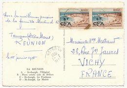 REUNION - CPM Affr. 4F/10F ROYAN - 1955 - Réunion (1852-1975)