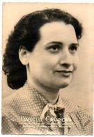 Guerre 1939-45 : Résistance, Arrestations, Déportation à Auschwitz, Assassinats,... Danielle CASANOVA, Née à Ajaccio. - Krieg, Militär