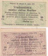 Slowenien-Notgeld-Maribor - Slovénie