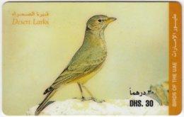 U.A.E. B-318 Prepaid Etisalat - Animal, Bird - Used - Emirati Arabi Uniti