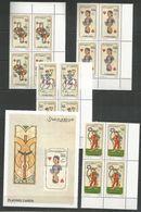 4x SOMALIA - MNH - Art - Playing Cards - Art