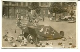 Liège CP Place Saint Lambert Avion 1952 - Lüttich