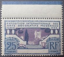 DF40266/1987 - 1924/1925 - EXPO Des ARTS DECO à PARIS - N°213 NEUF** BdF Avec Filet D'encadrement - Nuevos