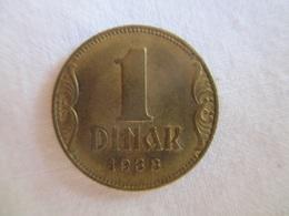 Yougoslavie 1 Dinar 1938 - Yugoslavia