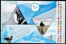 2011 Argentina Antarctic Treaty 34th Consultative Meeting Minisheet (** / MNH / UMM) - Antarctic Treaty
