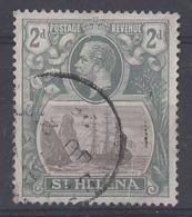 """ST. HELENA.....KING  GEORGE V.(1910-36.)....."""" 1922.."""".......2d.....SG100.......CDS......VFU. - Isola Di Sant'Elena"""