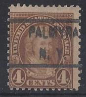 """U.S.A......"""" 1922..""""......4c......PALMYRA NY.... ...VFU. - Usati"""