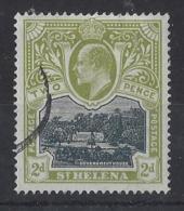 "ST.HELENA.....KING EDWARD VII.(1901-10.)..."" 1903..""....2d.....SG57.......CDS.....VFU... - Isola Di Sant'Elena"