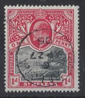 "ST.HELENA.....KING EDWARD VII.(1901-10.)..."" 1903..""....1d........CDS.....VFU... - Isola Di Sant'Elena"