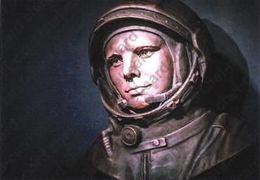 """[2020, Space, Astronauts, Gagarin] Postal Card """"[Yu.A. Gagarin]"""". - Russie"""