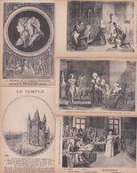 Lot 11 Cpa  HISTOIRE . Procès, Lettres Et Exécution De MARIE ANTOINETTE Et De LOUIS XVI - History