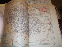 CARTE FRANCE DEPARTEMENT DU GERS ERHARD CIRCA 1900 38 X 29 CM - Cartes Géographiques