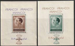 1937. * GUERRA CIVIL.SELLOS LOCALES. Sofima-Fesofi: PUENTE DE PIEDRA 18/19. HOJAS BLOQUE - 1931-50 Ungebraucht