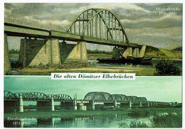 Deutschland, Dömitz, Elbe-Brücken - Dömitz