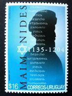2004 URUGUAY Mnh - Maimonides Maimonide Judaismo Judaism - Yvert 2174 - Uruguay