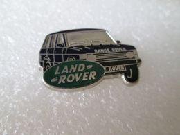 PIN'S   LAND ROVER  RANGE  ROVER   Zamak    29X20mm - Badges