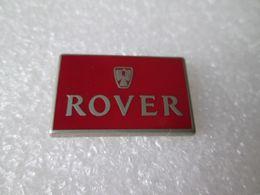 PIN'S   LOGO   ROVER   Zamak    ATC  27X17mm - Badges