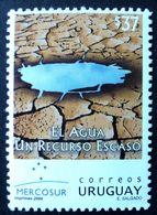 2004 URUGUAY Mnh - Eau Agua Water Wasser Environment Desertification - Yvert 2198 - Uruguay