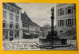12640 - Delémont Place De L'Hôtel De Ville - JU Jura