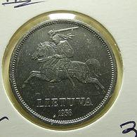 Lithuania 5 Litai 1936 Silver - Lithuania