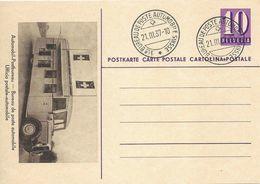 "PK 143-01  ""Automobilpostbureau""  (LT Stempel)         1937 - Entiers Postaux"