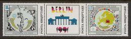 ALBANIA 1992 - Admission To CSCE - Set MNH - Albanie
