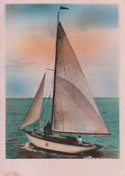 Carte Postale. Voilier. Photo Véritable. Etat Moyen. Petite Tache. Légèrement Grignotée Sur Un Bord. - Voiliers