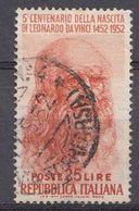 Italie 1952  Mi.Nr: 860 Geburtstag Von Leonardo Da Vinci   Oblitèré / Used / Gebruikt - 6. 1946-.. Republic