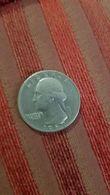 Piece De Monnaie En Argent  Quarter Dollar   Usa  1967 Washington - 1932-1998: Washington