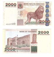Tanzania - 2000 Shillings 2003 UNC P. 37a Lemberg-Zp - Tanzania