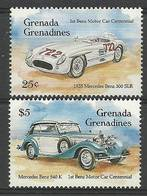 Grenada And Grenadines 1993 Mi 1825+1828 MNH ( LZS2 GGR1825+1828 ) - Voitures