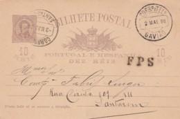 Portugal Postcard 1888 - Portugal