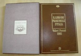 ITALIA: IL LIBRO DEI FRANCOBOLLI DEL 1993 COMPLETO DI TUTTO, PERFETTO!!!!++++++ - 6. 1946-.. Republic