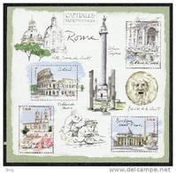 Bloc N° 53 Capitales Européennes Rome 2002  Valeur Faciale 1,84 Euros - Ungebraucht