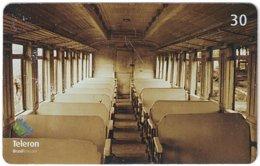 BRASIL M-587 Magnetic Teleron - Traffic, Historic Railway - Used - Brésil
