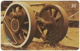 BRASIL M-592 Magnetic Teleron - Traffic, Historic Railway - Used - Brésil