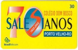 BRASIL M-595 Magnetic BrasilTelecom - Used - Brésil